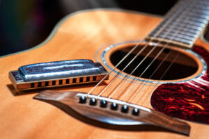 acoustic-guitar-with-blues-harmonica-country