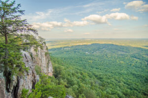 beautiful-aerial-landscape-views-from-crowders-mountain-near-gas